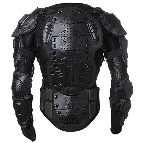 Motorbike Motorcycle Protective Body Armour Armor Jacket Guard Motorcross Racing Clothing Bike Bicycle Cycling Riding Biker Motocross Gear Black ( Size XXL ) For 2012 Ducati STREETFIGHTER 848