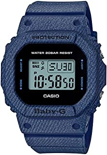 Casio Baby G Women BGD560DE-2D Year-Round Digital Automatic Blue Watch