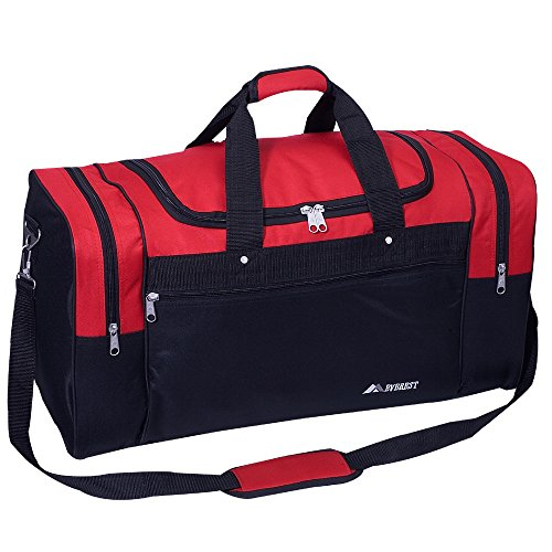 Everest Sports Duffel - Large, Red, One Size