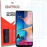 3 Pezzi, Vetro Temperato Compatibile con Samsung A40, Pellicola Prottetiva Anti Graffio, Anti-Impronte, Durezza 9H, 0,26mm Ultra Trasparente, Ultra Resistente