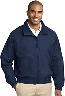 CornerStone Men's Duck Flannel-Lined Work Jacket_True Navy_XX-Large Tall