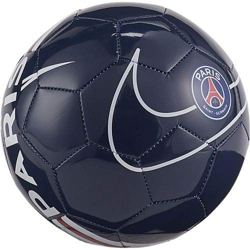 Nike Unisex-Adult Paris Saint-Germain Skills Soccer B Recreational Ball, Midnight Navy/University red/White, 1