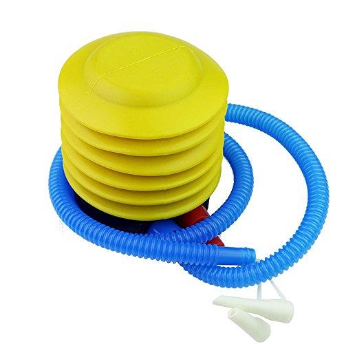 Prochive Fußpumpe, zum Aufblasen, Luftpumpe, tragbare Fuß-Luftpumpe für aufblasbares Spielzeug, Schwimmring, Yoga-Ball, Matratze, und Fitness-Übungsball