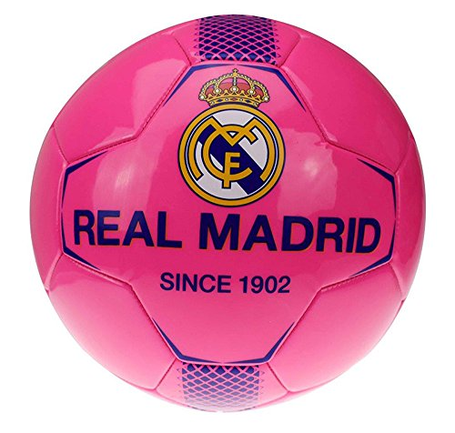 Ballon de Football Real Madrid Rose Fluo
