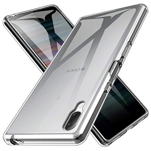LK Hülle für Sony Xperia L3, Ultra Schlank Dünn TPU Gel Gummi Weiche Haut Silikon Schutzhülle Abdeckung Case Cover für Sony Xperia L3 (Transparent)