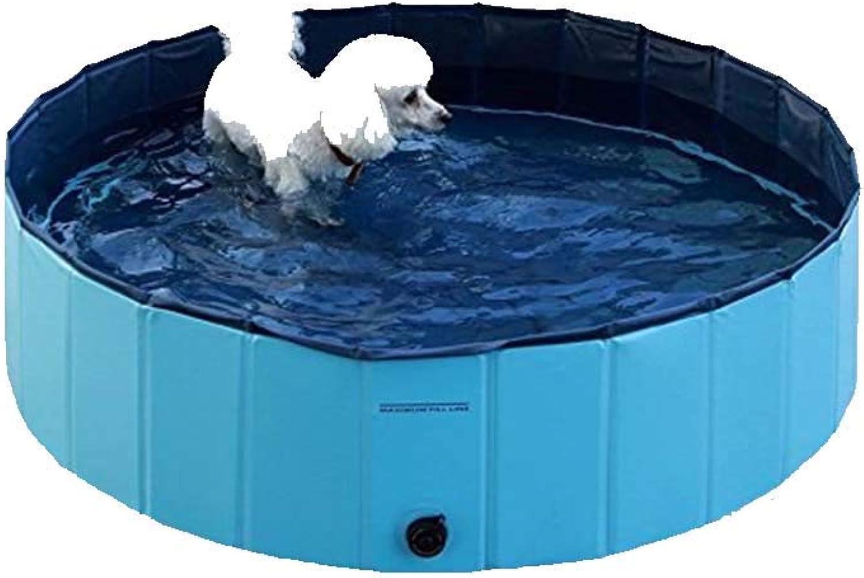 Pet Bath Pool, Outdoor Portable Pet Foldable Cat Pet Bath Tub