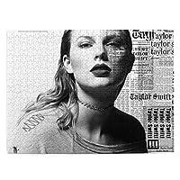Taylor Swift Taylor テイラー·スウィフトテイラー 500ピースジグソーパズル 大人向け 減圧玩具 家の装飾 パズル 人気 パズルゲーム 知育おもちゃ