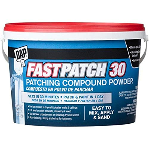 DAP 209735 Fast Patch 30 Powder 3.5 Lbs Raw Building Material, White