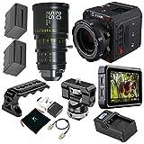 Z CAM E2-S6 Pro Super 35mm 6K Cinema Camera, EF Mount - Bundle with DZOFILM 20-55mm T2.8 Super35 Zoom Cine Lens, Atomos Ninja V 5' Touchscreen Recording Monitor, Zilr 4Kp60 HDMI Cable, and More