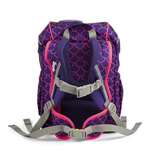 Ergobag Mini Schniekaboo, ergonomischer Kinderrucksack, Kindergarten Vorschule, DIN A4, 10 Liter, 500 g, Violett