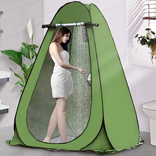 WYYH Tienda De Campaña Impermeable, Pop Up Quick Open WC Portatil Camping Protección UV con Ventilación Cocina Ducha Camping Tienda Refugio Al Aire Libre Guardarropa Pesca Baño