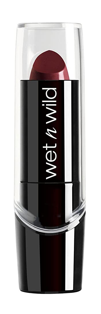 タクシーオール力強いWET N WILD Silk Finish Lipstick - Black Orchid (並行輸入品)