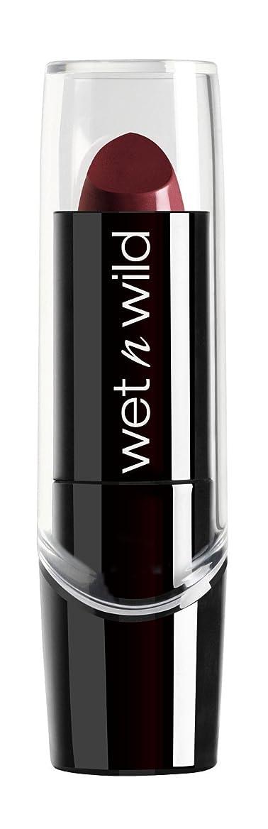時々オーバーヘッド文化WET N WILD Silk Finish Lipstick - Black Orchid (並行輸入品)