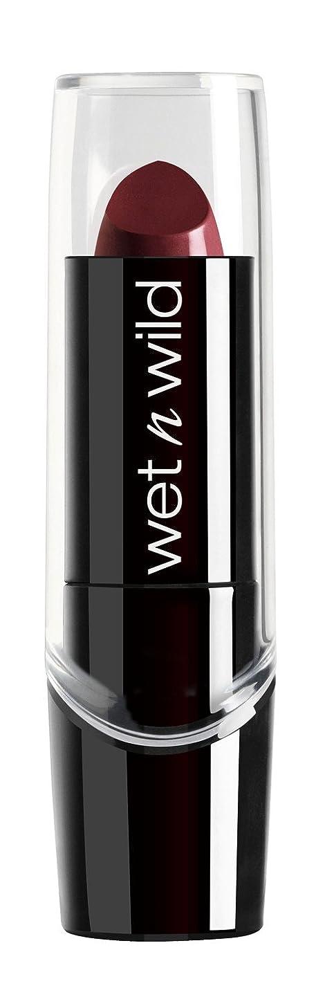 スキニー首デモンストレーションWET N WILD Silk Finish Lipstick - Black Orchid (並行輸入品)