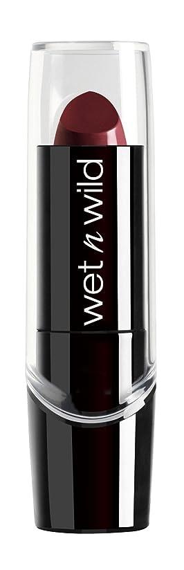 味対処生き残りWET N WILD Silk Finish Lipstick - Black Orchid (並行輸入品)