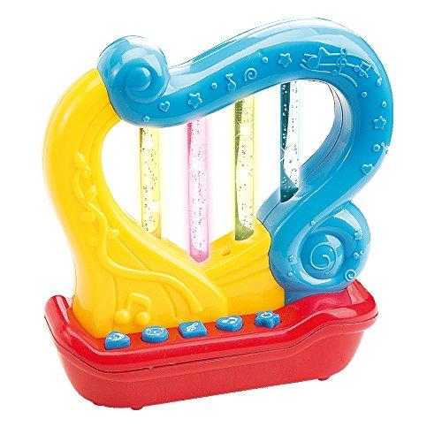WEofferwhatYOUwant Arpa Musical Juguete Unisex . Juguetes Educativos con Canciones Infantiles . El Instrumento Musical Bebés De 18 Meses - 24 Meses En Adelante