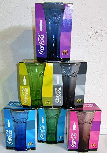 Coca-Cola / Gläser / 2008 / 6er Set/Mc Donald's