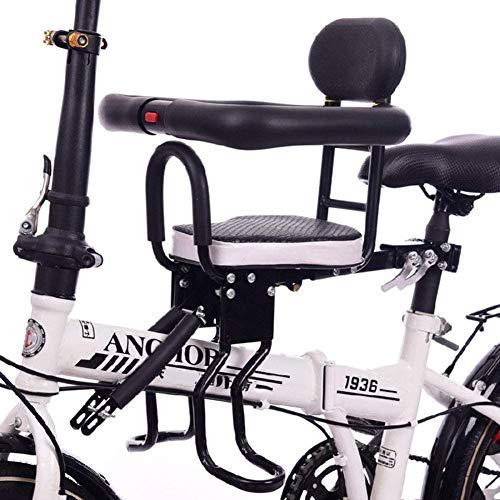 GLJY Fahrrad Kindersitz, Vollzaun Kindersitz, Front Mountain Fahrradsattel für 6 Monate bis 3 Jahre alte weibliche Baby/Baby