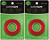 2-PACK - Thermoweb Super Tape Double-Sided, 1/4-Inch-by-6-Yards
