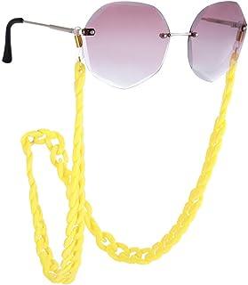Fenical Frauen-Brillen-Ketten-Schauspiel-Kettenglas-Schnur-Halter-Sonnenbrille-Kettenschnur