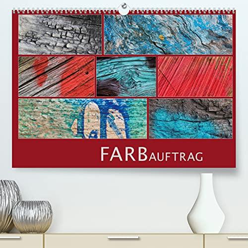 FARBauftrag (Premium, hochwertiger DIN A2 Wandkalender 2022, Kunstdruck in Hochglanz)