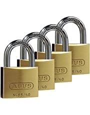ABUS Hangslot Quad Pack 65/40 40 mm, messing, 35127