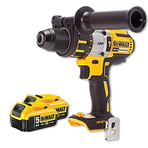 DeWalt DCD996N 18v XRP Brushless Hammer Combi Drill with 2 x DCB184 5Ah Batteries