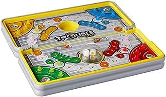 Hasbro Gaming Hasbro Gaming Road Trip Series Trouble Game, Multicolor