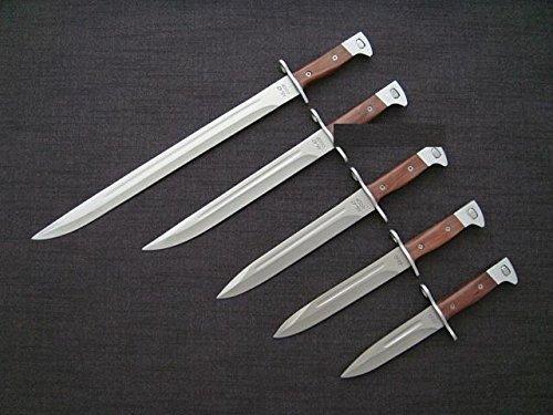 *5er Set* russisches Militär CCCP AK-47 Bajonett/Messer komplett Set von 26cm bis 51cm Länge
