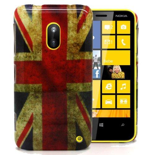 Accessory Master - Carcasa híbrida para Nokia Lumia 620, diseño retro de...