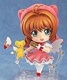 Yvonnezhang Anime Nendoroid 400 Card Captor Sakura Personaje Kinomoto Sakura 10 cm Figuras de acción Juguetes