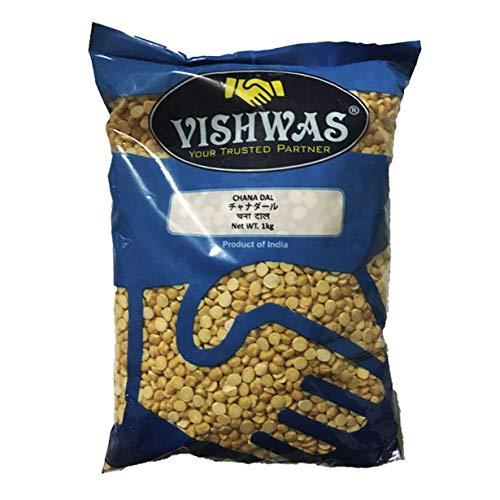 ● チャナダール 1kg (黒ひよこ豆/カラチャナ の皮をむいて2分割) インド産