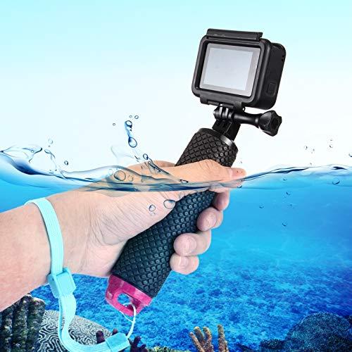Deporte cámara flotante empuñadura / buceo surf flotabilidad varillas con correa ajustable mano perdida anti-para GoPro HERO 5/4/3 + / 3 y Xiaomi Xiaoyi Yi / Yi II 4K y SJCAM Calidad sin preocupacione