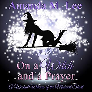 On a Witch and a Prayer audiobook cover art