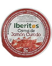 Iberitos Crema de Jamón curado - Bandeja 18 x 25 gr