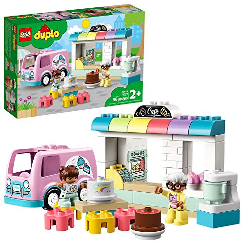 LEGO DUPLO Town Bakery 10928 Educational Play Café Toy for Toddlers, Great Gift for Kids Ages 2 and Over (46 Pieces)