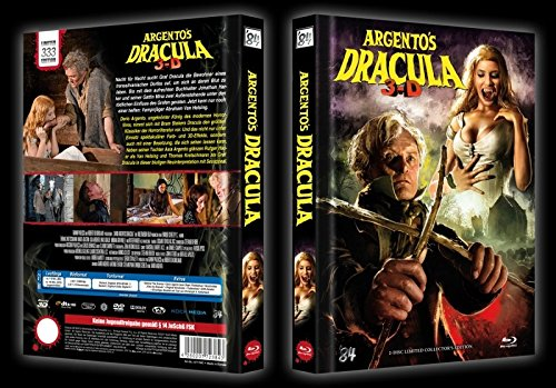 Argento´s Dracula 3D - Limited Mediabook Edition Cover C (Collectors Edition) - DVD - blu-ray