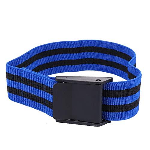 BESPORTBLE 2 fasce per allenamento occlusivo bande di resistenza del sangue per braccia, gambe, fitness, bodybuilding