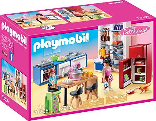 PLAYMOBIL Dollhouse Cocina, A partir de 4 Años (70206)