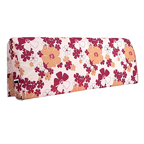 MWPO Linen Pillow backrest/Detachable Washable Bedside Cushions / -Cushion/Pillow (Size:200 55 10cm)
