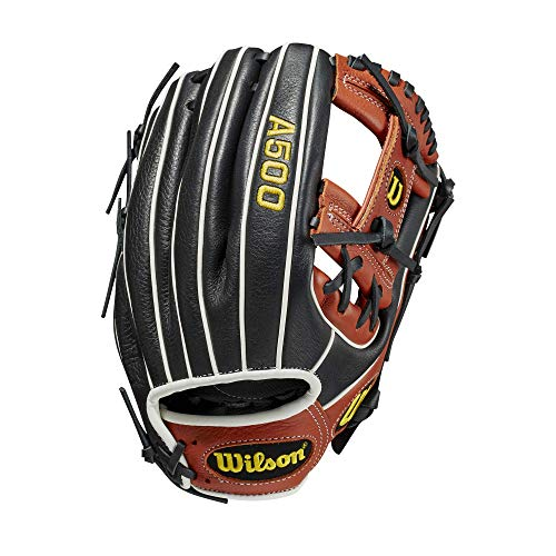 Wilson A500 Baseball 11.5  - Right Hand Throw,11.5 ,Copper, Large (WBW100148115)