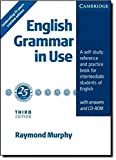English Grammar in Use Silver Hardback with answers and CD-ROM - A Self-study Reference and Practice Book for Intermediate Students of English - Cambridge University Press - 17/12/2009