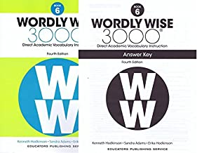 Wordly Wise 3000 Fourth Edition Student Edition + Answer Key Set Grade 6