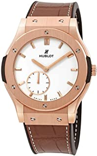 Hublot - Classic Fusion Classico - Reloj de pulsera para hombre, oro rosa de 18 quilates, 42 mm, 545.OX.2210.LR