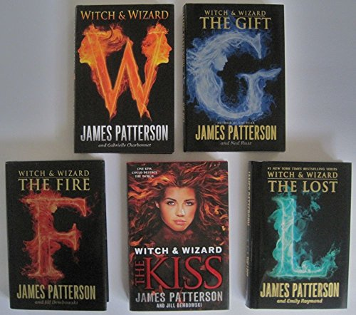 Witch and Wizard Series Set 1-5 by James Patterson