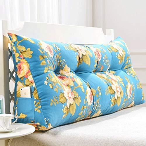 Tokyia Cama de doble espalda, almohada de cama Tatami, cojín lumbar para la cintura (color: V, tamaño: 180 cm)