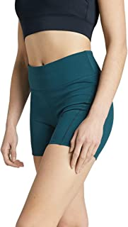 Rockwear Activewear Women's Seam Detail Mid Thigh Tight Dark Teal 14 from Size 4-18 for Mid Thigh Bottoms Leggings + Yoga ...