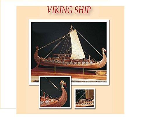 Kit maqueta barco vikingo Drakkar. AMATI 1406/1