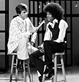 Gatsbe Exchange 8 x 10 Photo Michael Jackson y Dick Clark American Bandstand
