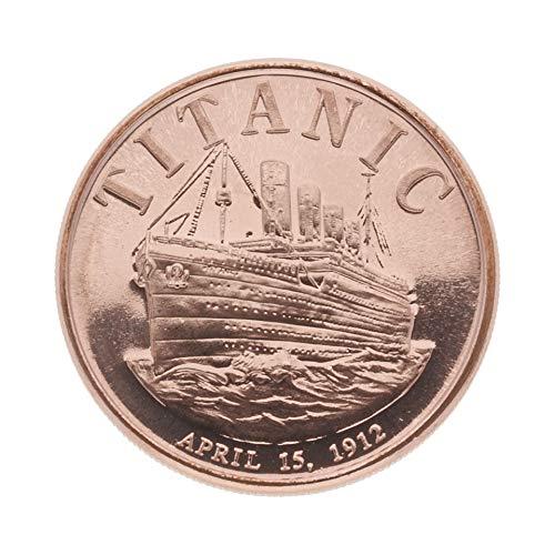 Private Mint 1 Unze (AVDP) .999 fein Kupfermünze - Titanic - 1 Unze (1 oz) - Prägefrisch - einzeln in Münzkapsel verpackt